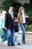 Elizabeth Hurley and her husband Arun Nayar arrive at the Paris airport with her son Damian Charles on October 25th 2009 7