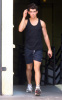 Joe Jonas spotted on his way to the gym in West Hollywood on October 24th 2009 2