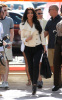Kim Kardashian seen as she arrives at Land Shark Stadium in Miami Florida on October 25th 2009 2