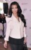 Kim Kardashian seen as she arrives at Land Shark Stadium in Miami Florida on October 25th 2009 10