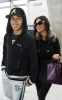 Nicole Scherzinger and Lewis Hamilton spotted getting into Heathrow Airport in London on October 25th 2009 4
