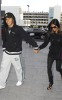 Nicole Scherzinger and Lewis Hamilton spotted getting into Heathrow Airport in London on October 25th 2009 1