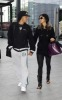 Nicole Scherzinger and Lewis Hamilton spotted getting into Heathrow Airport in London on October 25th 2009 7