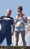 Alessandra Ambrosio picture as she stands on the Fasano Hotel balcony in Rio de Janeiro on October 24th 2009 2