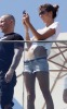 Alessandra Ambrosio picture as she stands on the Fasano Hotel balcony in Rio de Janeiro on October 24th 2009 3