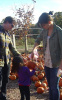 Tom Cruise with Katie Holmes and their daughter Suri seen getting a pumpkin at the Brooksby Farm in Massachusetts on October 25th 2009 4