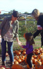 Katie Holmes with her daughter Suri seen getting a pumpkin at the Brooksby Farm in Massachusetts on October 25th 2009 3