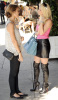 Heidi Montag and Audrina Patridge spotted at Cafe Midi at La Brea Avenue in Los Angeles filming an episode for their reality series The Hills on October 26th 2009 1