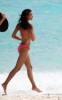 Irina Sheik spotted posing for a Victorias Secret photo shoot on the beach in St Barth on October 26th 2009 1