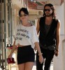 Katy Perry and her boyfriend Russell Brand spotted walking together in Los Angeles on October 26th 2009 10