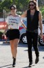 Katy Perry and her boyfriend Russell Brand spotted walking together in Los Angeles on October 26th 2009 5