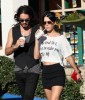 Katy Perry and her boyfriend Russell Brand spotted walking together in Los Angeles on October 26th 2009 1