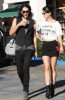 Katy Perry and her boyfriend Russell Brand spotted walking together in Los Angeles on October 26th 2009 11