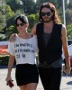 Katy Perry and her boyfriend Russell Brand spotted walking together in Los Angeles on October 26th 2009 9