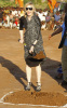 Madonna spotted at the construction site of a new academy for girls at Chinkhota village some 24km north of the capital Lilongwe Malawi on October 26th 2009 6