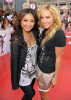 Ashley Tisdale and Brenda Song arrive at the premiere of This Is It movie on October 27th 2009