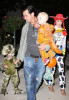 Gwen Stefani spotted with her Husband Gavin Rossdale and their sons Kingston James and Zuma out trick or treating in Beverly Hills on October 31st 2009 1