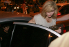 Jesus Luz and Madonna heading to the Sushi Leblon restaurant on November 10th 2009 1