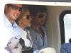 Jesus Luz and Madonna arrive to Angra dos Reis via helicopter on November 14th 2009 2
