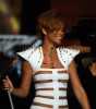 Rihanna performs onstage at the 2009 American Music Awards at Nokia Theatre L.A. Live on November 22nd 2009