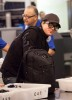 Adam Lambert picture while he gets ready to take a flight at LAX airport on November 22nd 2009 1