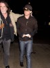 Adam Lambert picture while he gets ready to take a flight at LAX airport on November 22nd 2009 5