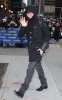 Adam Lambert picture while heading to the David Letterman Show in New York City on November 23rd 2009 1