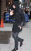 Adam Lambert picture while heading to the David Letterman Show in New York City on November 23rd 2009 2
