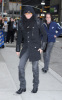 Adam Lambert picture while heading to the David Letterman Show in New York City on November 23rd 2009 4