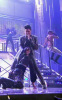 Adam Lambert performs onstage at the 2009 American Music Awards at Nokia Theatre L.A. Live on November 22nd 2009