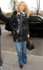 Claire Danes spotted at CBS Studios for an interview on The Early Show on the morning of November 23rd 2009 1