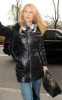 Claire Danes spotted at CBS Studios for an interview on The Early Show on the morning of November 23rd 2009 2