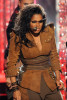 Janet Jackson performs onstage at the 2009 American Music Awards at Nokia Theatre LA on November 22nd 2009 in California 1
