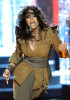 Janet Jackson performs onstage at the 2009 American Music Awards at Nokia Theatre LA on November 22nd 2009 in California 12
