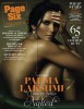 Padma Lakshmi photo shoot for the Page Six magazine issue of December 2009 2