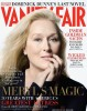 Meryl Streep on the January 2010 cover of Vanity Fair magazine issue 1