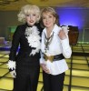 Barbara Walters with Lady Gaga as part of her special Barbara Walters Presents The 10 Most Fascinating People of 2009 3