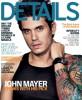 John Mayer on the December 2009 cover of Details Magazine 3