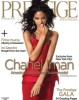 Chanel Iman on the December 2009 cover of Prestige magazine 1
