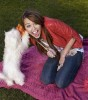 Miley Cyrus latest December 2009 Photoshoot in Casual Wear 1