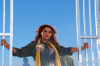 Shatha Hasson latest pictures from filming her new 2010 video clip waed arqob 5