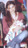 picture of Hilda Khalifeh with her baby boy son 2