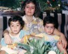 Saad Ramadan with his mother as a little boy
