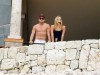 Leonardo DiCaprio and Bar Refaeli spotted together standing at a se view balcony in Cabo San Lucas Mexico on January 1st 2010 1