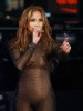 Jennifer Lopez photo from her performance in Times Square for News Years Eve on December 31st 2009 in New York City 1