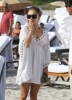 Hayden Panettiere picture as she walks straight to the South Beach after she arrived in Miami on December 31st 2009 1