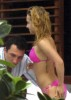 Hayden Panettiere photo while sunbathing in her pink bikini in Miami Florida on December 31st 2009 6