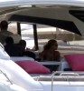 Beyonce Knowles spotted with her husband Jay Z on a yacht around the Caribbean at St Barth on December 31st 2009 2