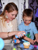 Melissa Joan Hart and her son Mason Wilkerson spotted at his 4th birthday party on January 8th 2010 in Sherman Oaks California 3
