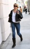 Michelle Pfeiffer spotted walking with a new short haircut in Beverly Hills on January 7th 2010 1